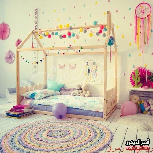 تزيين غرف الاطفال بالاعمال اليدوية