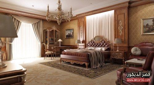 تصميمات غرف نوم كلاسيك