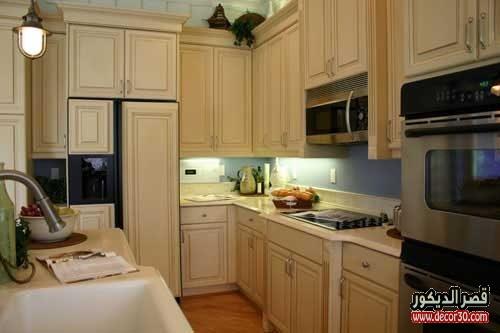 تنظيف خشب المطبخ قصر الديكور