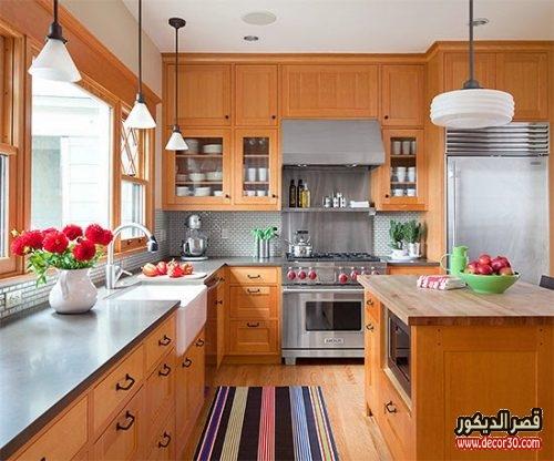 كيفية تنظيف المطبخ الخشب