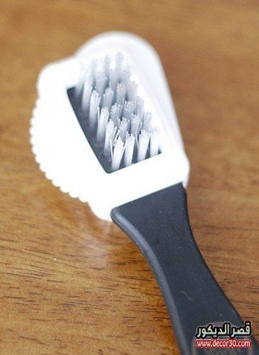 فرشاة تنظيف الشامواه