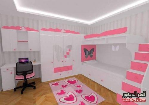 ديكور غرف اطفال بناتي