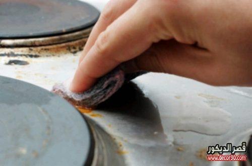 طرق ازالة الصدأ من ادوات المطبخ