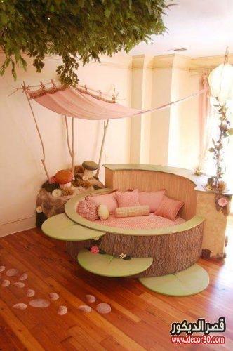 غرف اطفال وديكورات جميلة