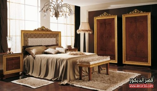 غرف نوم كاملة بالدولاب