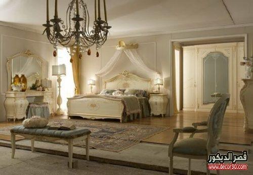 غرف نوم كلاسيك للعرسان