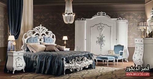 غرف نوم مودرن تركى ديكورات غرف عصرية فخمة ٢٠١٨ قصر الديكور