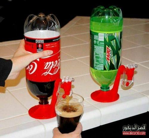حامل زجاجات المشروبات الغازية