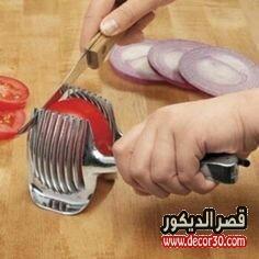 قطاعة الطماطم دوائر