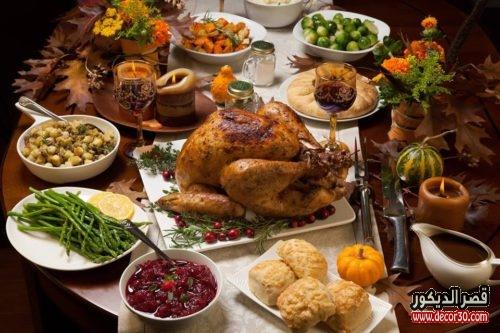 اتيكيت ترتيب طاولة الطعام بالصور