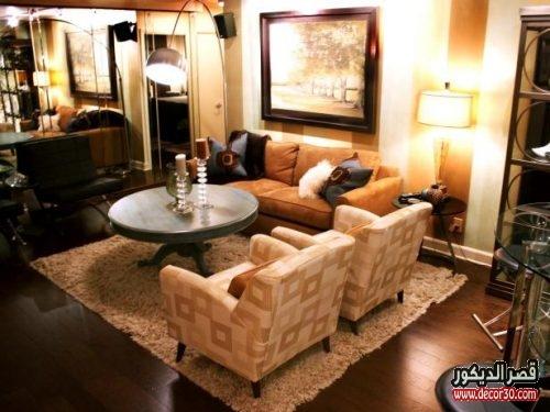 اجمل دهانات living room