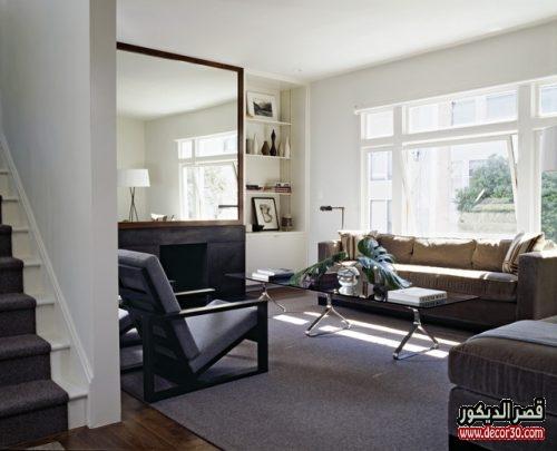اشكال مرايا Living Room