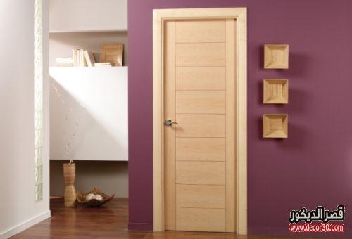 باب غرف خشب كلاسيك