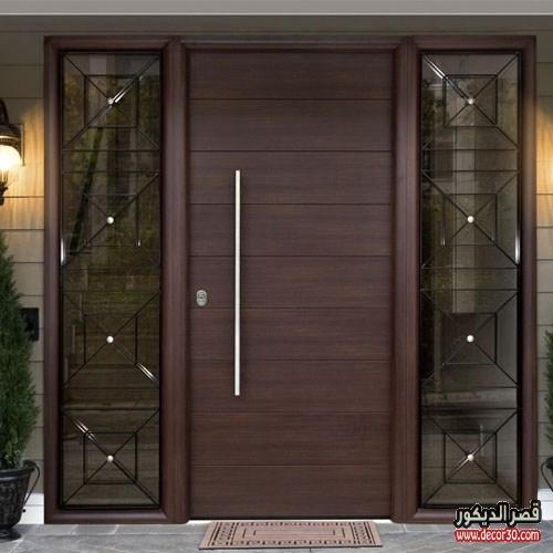 باب منزل مودرن بني