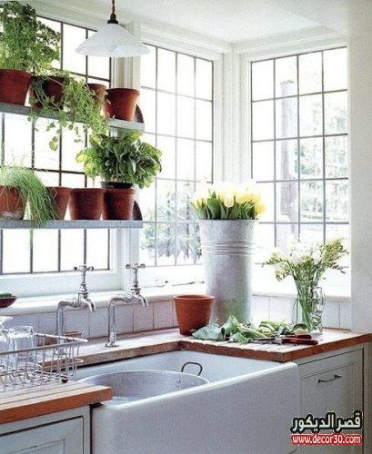افكار لتزيين المطبخ والحمام بالصور