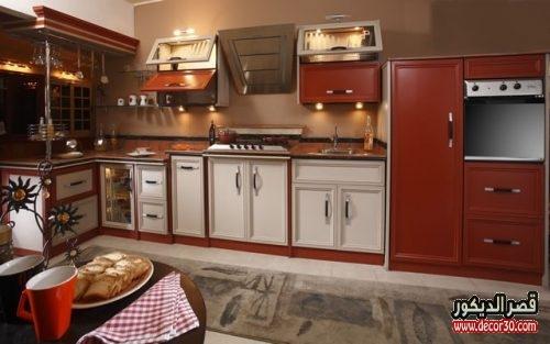 مطبخ الوميتال بني في بيج 2018
