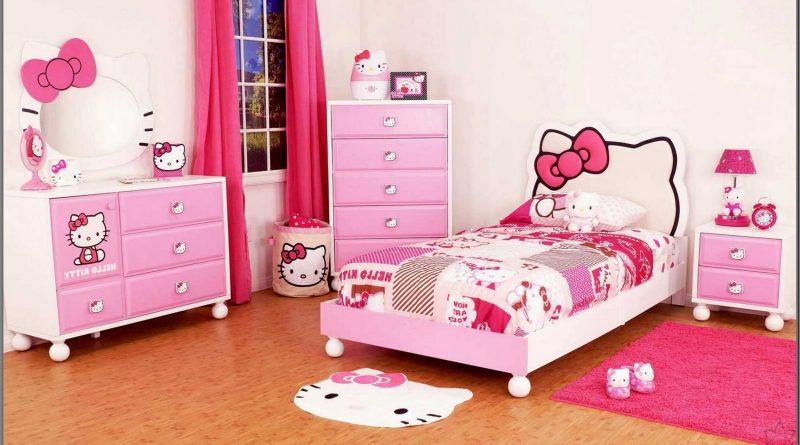 غرف نوم هيلو كيتى