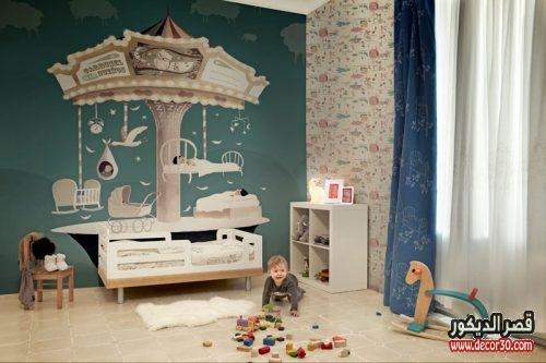 اجمل غرف نوم اطفال مودرن