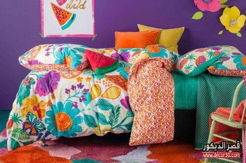 اجمل مفارش غرف نوم اطفال مودرن