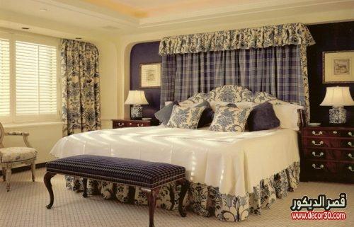 احدث الوان حوائط غرف النوم للعرائس عصري