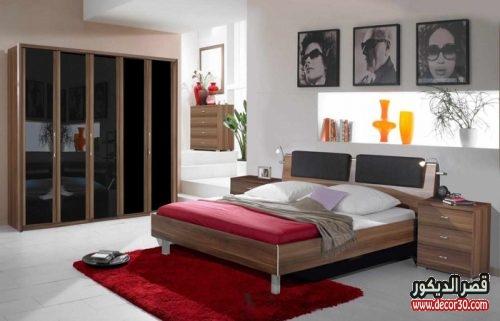 احدث الوان دهانات حوائط غرف النوم مودرن