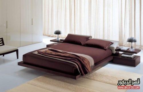 احدث دهانات حوائط غرف النوم بسيطة