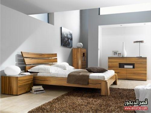 احدث غرف نوم للعرسان خشبيه