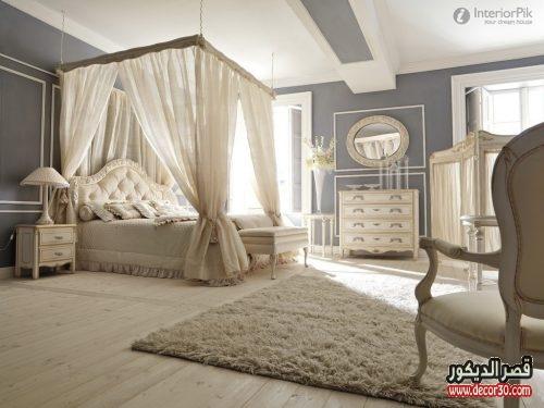 احدث موديلات غرف النوم الخشب