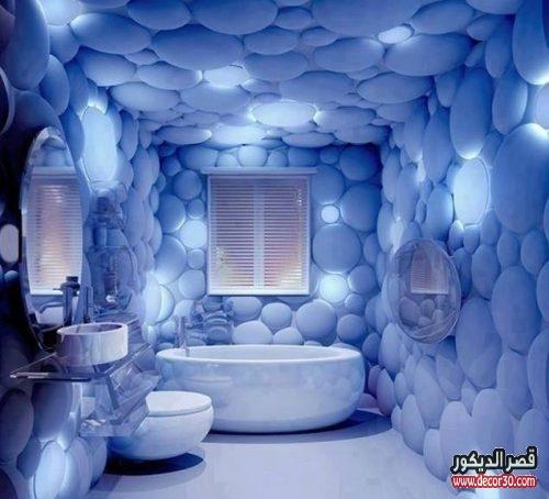 اشكال ديكورات حمامات مميزة