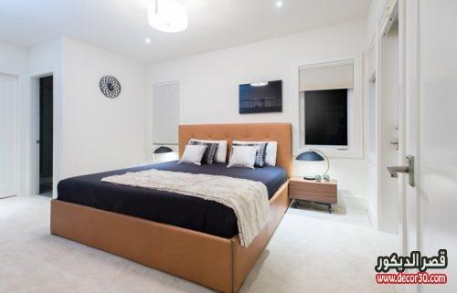 اصباغ غرف نوم باللون الأبيض