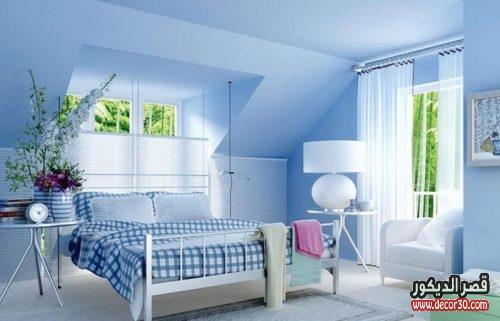 اصباغ غرف نوم بسيطة
