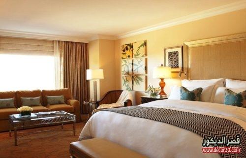 اصباغ غرف نوم بفندق