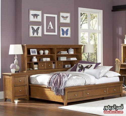 اصباغ غرف نوم, الوان دهانات غرف النوم الحديثة بالصور   قصر الديكور