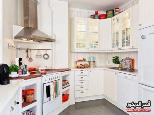 افكار ديكور مطبخ صغير