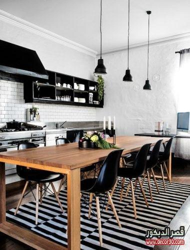 افكار لخزانات المطبخ