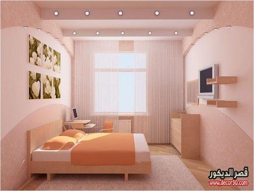 الوان حوائط غرف النوم الراقية