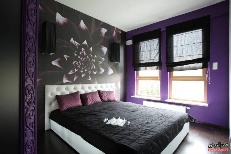 الوان حوائط غرف النوم الحديثة الوان دهانات غرف النوم بالصور قصر