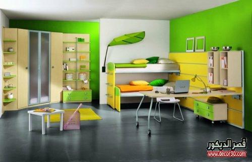 الوان حوائط غرف نوم اطفال عملية