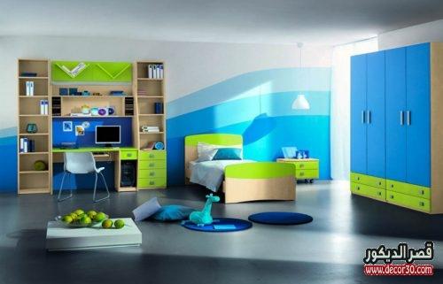 الوان حوائط غرف نوم اطفال