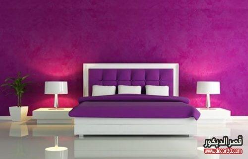 الوان دهانات غرف النوم الحديثة الهادئة