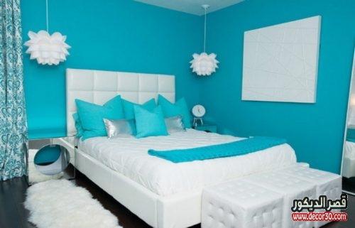 الوان دهانات غرف النوم الحديثة صغيرة