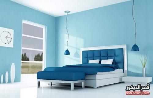 الوان دهانات غرف النوم الحديثة وبسيطة