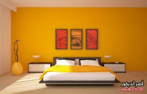 الوان دهانات غرف النوم الحديثة وزاهية
