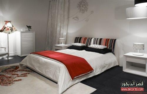 الوان دهانات غرف النوم الحديثة باللون البارد