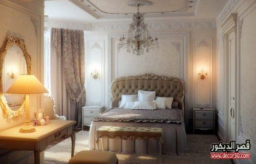 الوان دهانات غرف النوم للعرائس كلاسيك