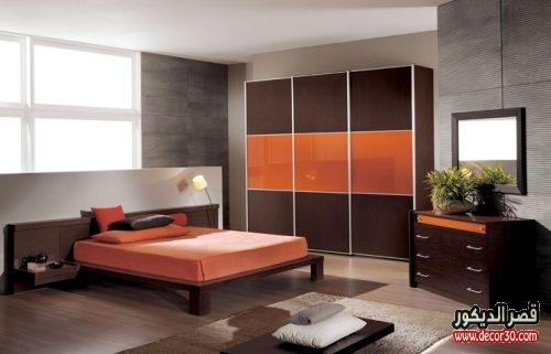 الوان ديكورات غرف نوم بسيطة