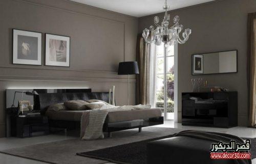 الوان ديكورات غرف نوم عصرية