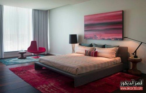 الوان غرف النوم للمتزوجين الحديثة