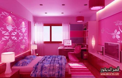 الوان غرف النوم للمتزوجين باللون البنك