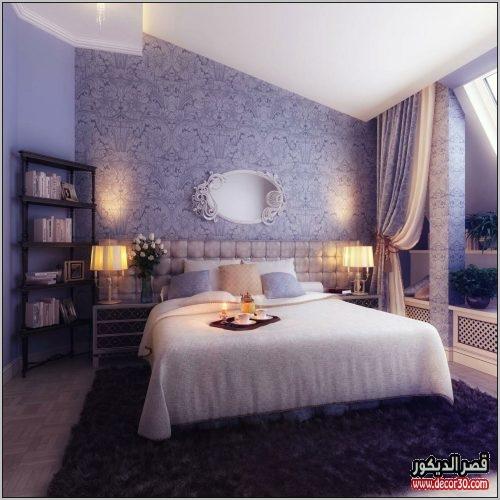 الوان غرف النوم للمتزوجين مودرن